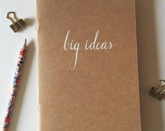 Craft Paper Big Ideas Notebook