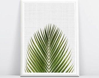 Palm Print, Palm Decor, Palm Frond Art, Decor Plant, Art Plant, Leaves Print, Palm Frond, Palm Leaf Print, Leaves, Tropic Art, Palm Print