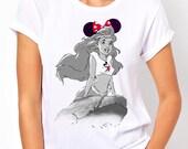 Disneyland Ariel the Little Mermaid (Disney) Womens T Shirt