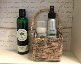 Natural eucalyptus shower gel with honey 8 oz
