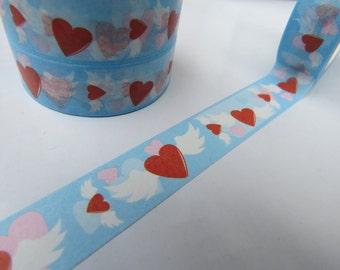 Valentines Hearts Washi Masking Tape