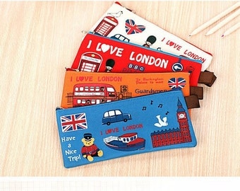 I love London Pencil/Cosmetics Case