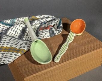 Ceramic Condiment Spoons