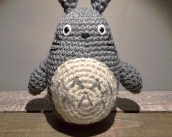 SMALL Totoro Crochet Amigurumi