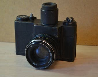 Unknown camera with a viewfinder. the USSR