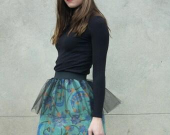 """Flared skirt """"Art déco"""""""