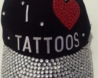 I Love Tattoos Hat