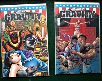 Captain Gravity No. 3 and 4 in NM Condition