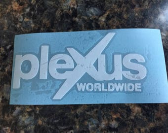 Plexus inspired car decal