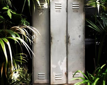 Vintage Iron Cabinet