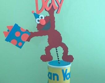 Elmo Birthday Centerpiece