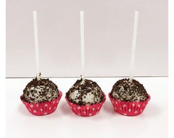 Gourmet Cookies & Cream Cake Pops!