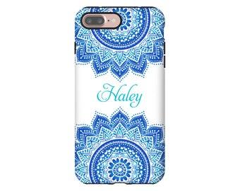iPhone 7 Plus case, mandala iPhone 7 case, iPhone SE case, girls iPhone cases, iPhone 6s Plus case/6s case, personalized iPhone cover