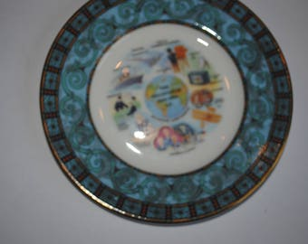 Wedgewood -The Millennium 1000-2000 A.D Plate 168 1991