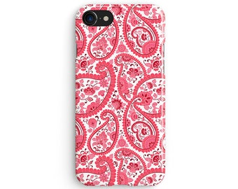 Rose floral Paisley - iPhone X case, iPhone 8 case, iPhone 8 Plus, iPhone 7 case, Samsung Galaxy Note 8 case 1C120
