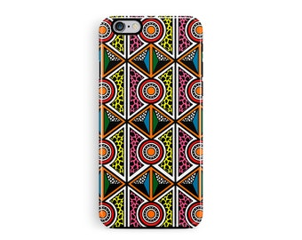 iPhone 7 Case, Boho iPhone Case, Bohemian iPhone 7 Case, African iPhone 7 Case, Aztec iPhone 7 Case, Ethnic Phone Case, Colourful Phone Case