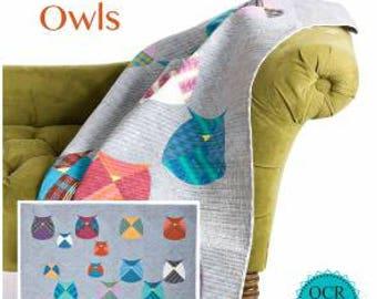 Sew Kind of Wonderful Mod Owls quilt pattern,