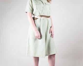 1970s Safari Dress