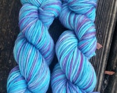 Worsted Weight Yarn - Walter's Worsted in 'Little Girl Blue'