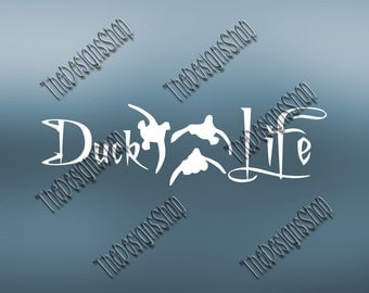 Duck Life Country Hunting Browning Design File | Cricut Explore Design Space Designs |  Svg Dxf PDF SCAL | Silhouette Studio  Cut File |269