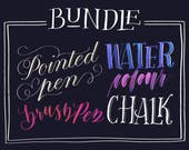 Procreate 4 Brush Bundle for Calligraphy & Lettering