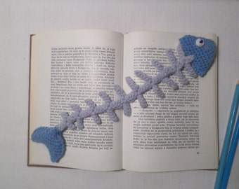 Bookmark, Crochet Bookmark, Fish Bookmark
