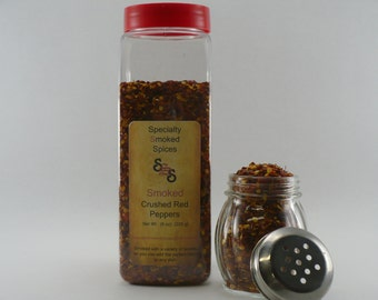 Smoked Crushed Red Peppers (32oz jar)