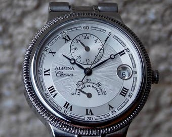 Alpina Chronos,LIMITED(303/333),Dual Time,reserve power,ETA 2892/A2
