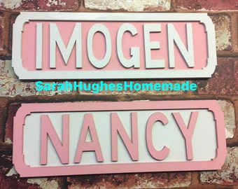 Street Sign. Personlised Street Sign