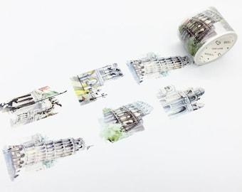 Italy - Traveling Around The World Series Washi Tape