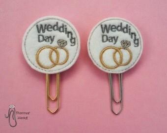 Wedding Planner Clip Paper Day