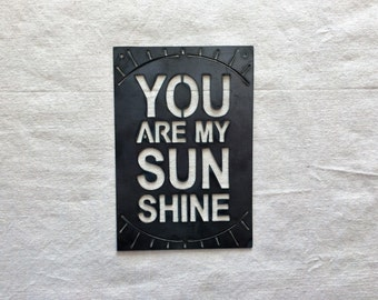 You Are My Sunshine - Small