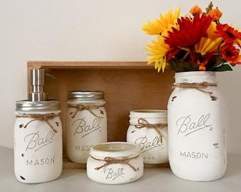 Rustic Mason Jar Set!