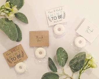 Mint to be Favors / Custom Mint Favors / Mint Wedding Favors (200 mints)