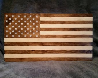 American Flag - Stained