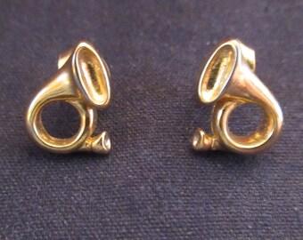 Pair of Bugle Earrings