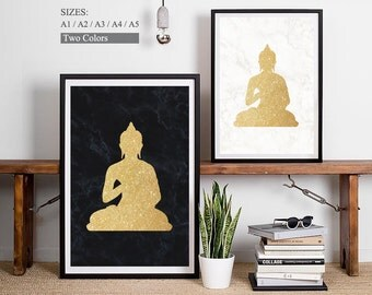 Zen Wall Art buddha wall art | etsy