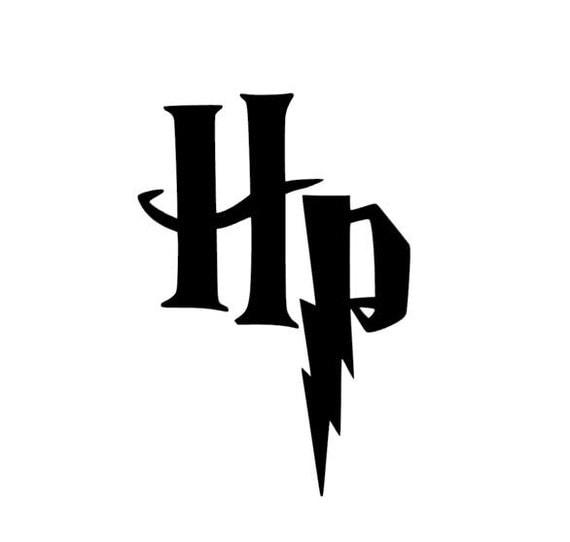 Harry potter hp logo vinilo adhesivos pegatinas Vinilos pared harry potter