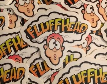 Fluffhead Warheads Sticker - Phish
