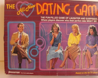 Vintage The All New Dating Game  (686)