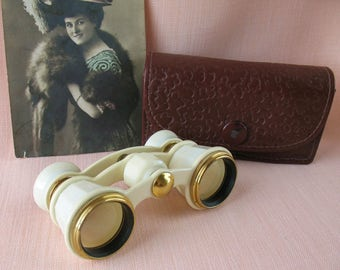 Vintage Opera Glasses Russian Soviet Optics Theatre Binoculars made in USSR Soviet Union