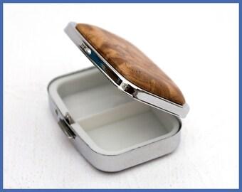 Pill Box-Pill Organizer-Pill Container-Medicine Organizer-Pill Holder-Pill Dispenser-Locking Pill Box-Small Pill Organizer-Pill Box        .