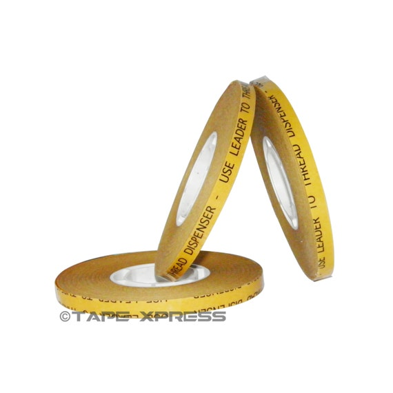 """1/4"""" (3 rolls) ATG Adhesive Transfer Tape (Fits 3M Gun) For Photo Crafts & Scrapbooking (3 rolls) - Free Shipping Within USA"""