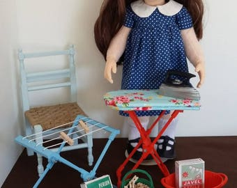 Laundry set for 18 inch dolls