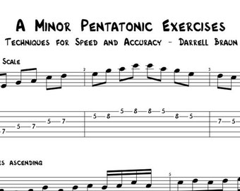 3 Pentatonic Exercises Every Guitarist Should Know!
