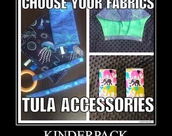 CUSTOM - Tula - Accessories, Hoodie, Hood, Drool Pads, Reach Straps, Curved Pads, Ergo, Kinderpack, LÍLLÉbaby