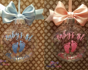 Baby's 1st Christmas Ornament - Personalized Ornament - Christmas Ornament