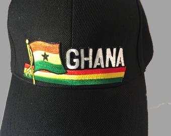 Ghana Patriotic Hat