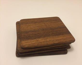 Hand Crafted Teak Coasters