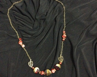 The necklace, red passion